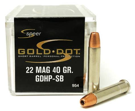 22 Wmr Ammo For Short Barrel