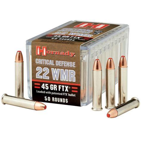 22 Wmr Ammo Test
