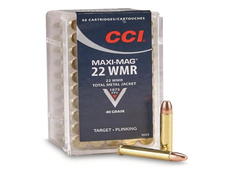 22 Wmr Target Ammo