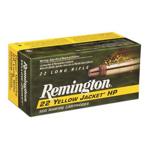 22 Yellow Jacket Ammo