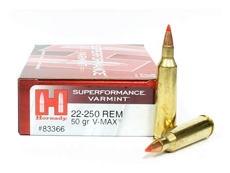 22250 Hornady Fps And 223 68 Gr Hornady Match Load