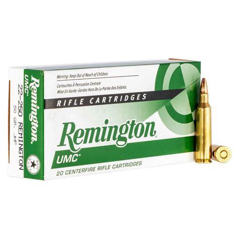 22250 Remington Umc 50gr Jhp Ammo Ammunition To Go