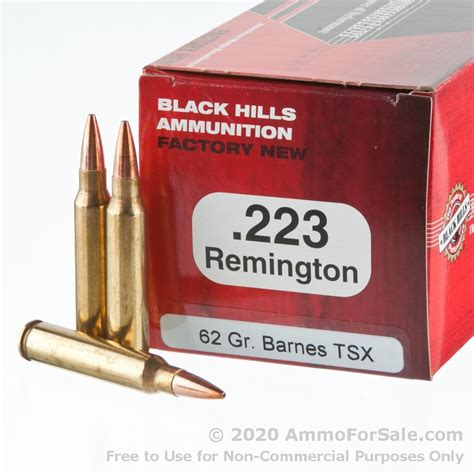 223 Black Hills Ammo For Sale And 223 Vs 243 Ammo Price