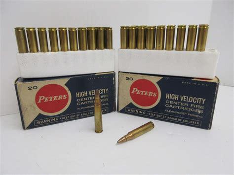 223 High Velocity Ammo And 224 Rifle Ammo