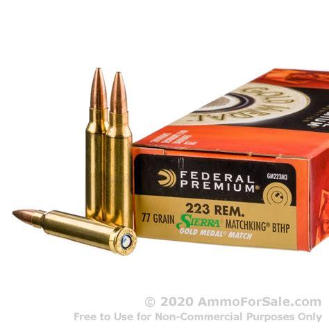 223 Ammo Federal