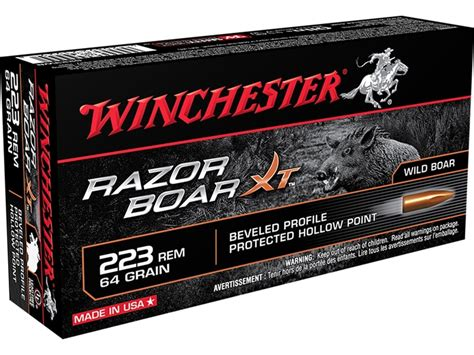 223 Ammo For Wild Hogs