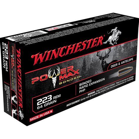 223 Ammo Power Max Bonded
