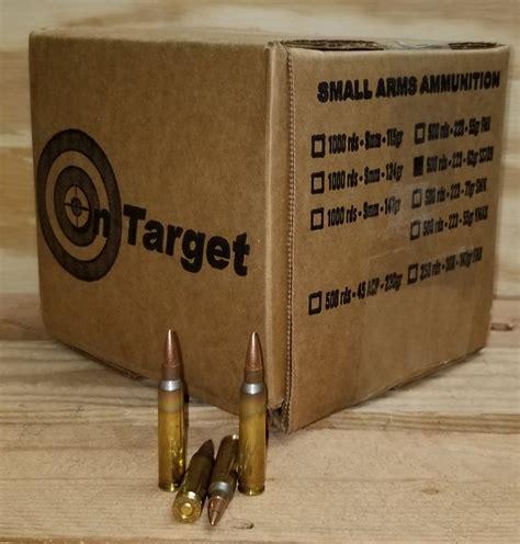 223 Ammo Steel Core
