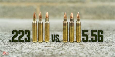 223 Ammo Vs 5 56