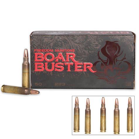 223 Boar Buster Ammo