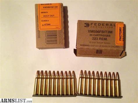 223 Fbi Ammo