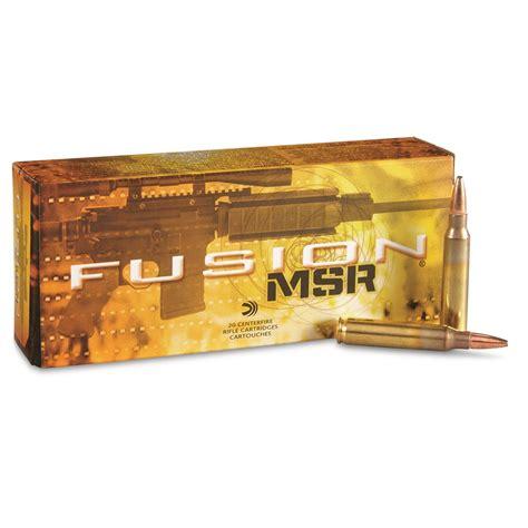 223 Fusion Ammo For Defense