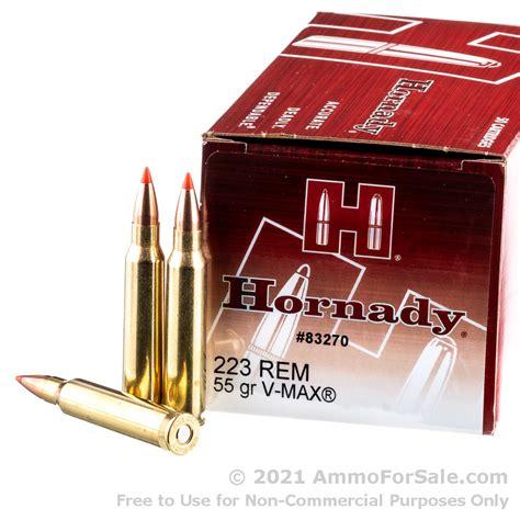 223 Hornady Ammo For Sale