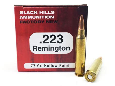 223 Hunting Ammo 77 Grain