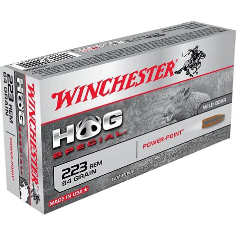 223 Hunting Ammo For Hogs