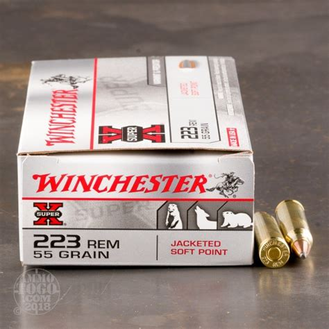 223 Jacketed Soft Point Ammo