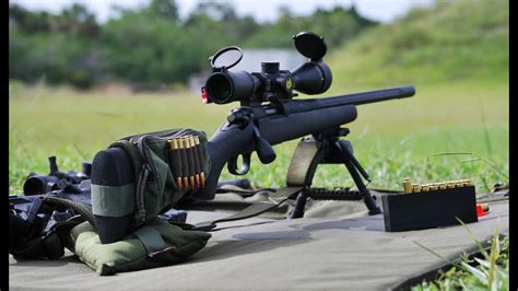 223 Or 308 For Police Sniper Rifle
