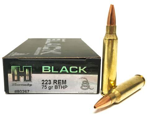 223 Rem 75 Gr Bthp Superformance Match Hornady