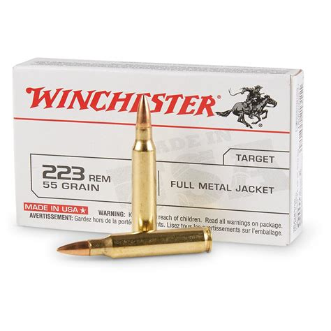 223 Rem Ammo - 1000 Rounds In Bulk By Wolf Gold - 55gr FMJ