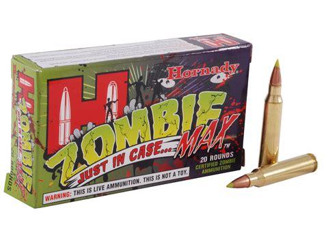 223 Rem Hornady Zombie Max 55gr Z-max Ammo