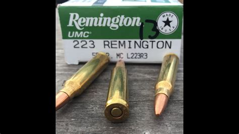 223 Remington 55gr Fmj Remington Umc L223r3 Velocity Test