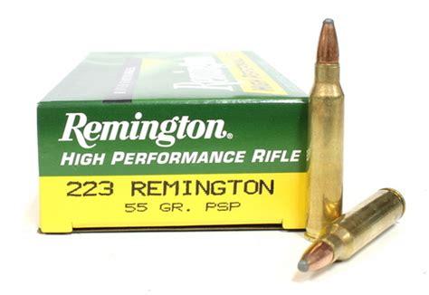 223 Remington Ammo 55 Grain Soft Point