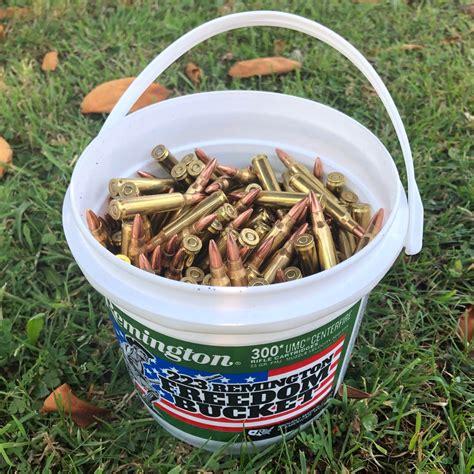 223 Remington Ammo Bucket
