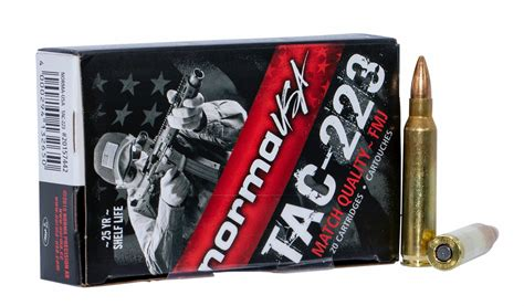 223 Remington Tac 55 Grain Fmj 20 Rounds By Norma