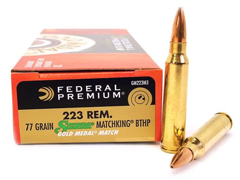 223 Sierra Tipped Matchking 77 Grain Ammo And 22lr Ammo Price 2017