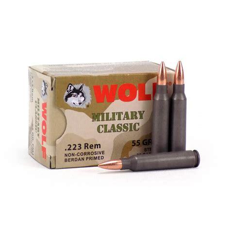 223 Wolf Steel Case Ammo