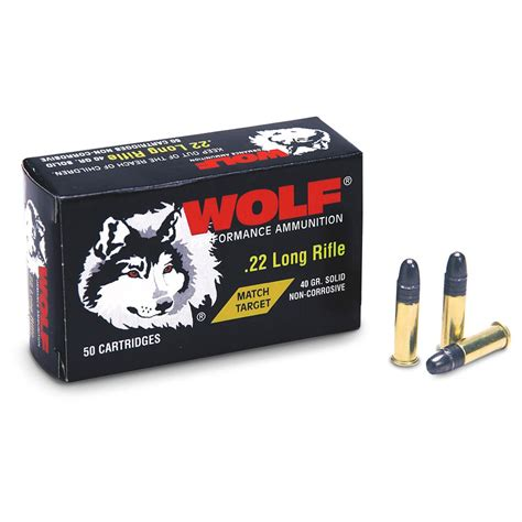 22LR Ammo Rimfire Wolf AmmoSeek Com