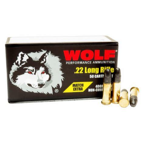 22lr Ammo Wolf Performance 40gr Match Target 500 Round Box