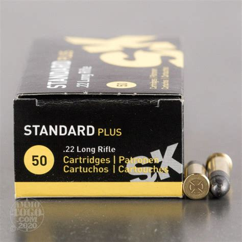 22LR SK Standard Plus 40gr Solid Point Ammo - Ammo To Go