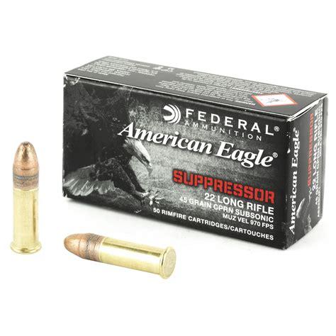 22lr Suppressor Ammo