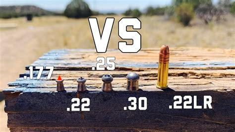 22lr Vs 22 Air Rifle