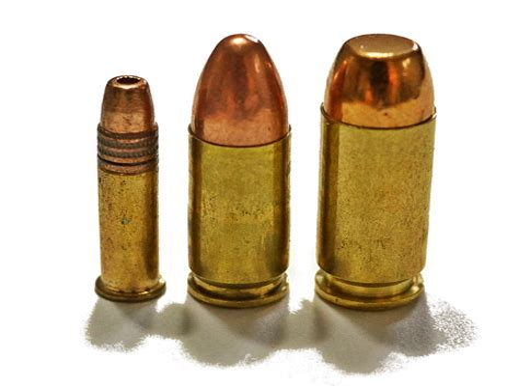 22lr Vs 9mm Handgun
