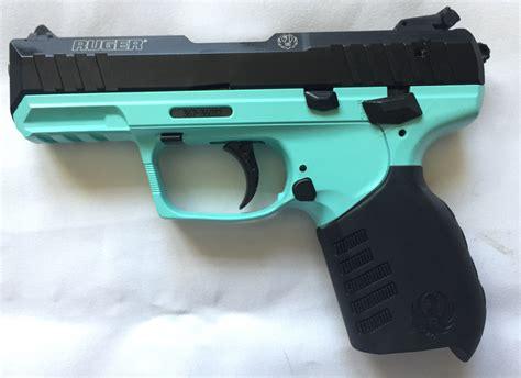 22mm Teal Handgun