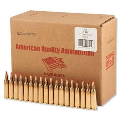 22x250 Bulk Ammo