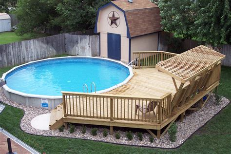 24 Ft Round Pool Deck Plans
