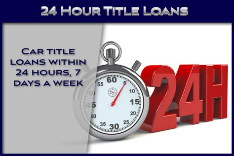 24 Hour Loans Same Day
