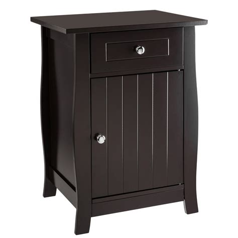 24 Inch End Table With Storage