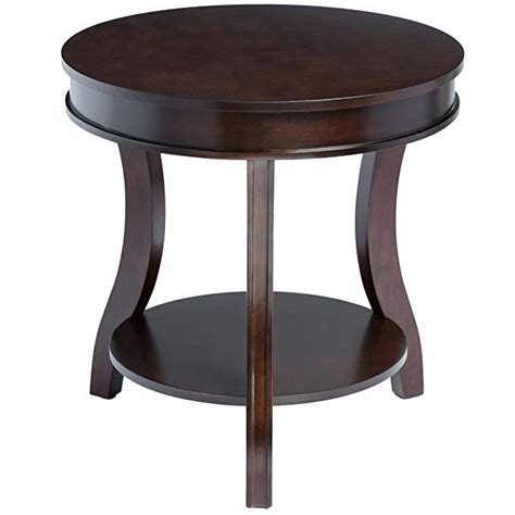 24 Inch Round End Table