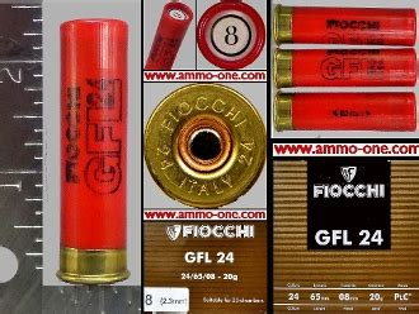 24 Gauge Plastic Shotgun Shells