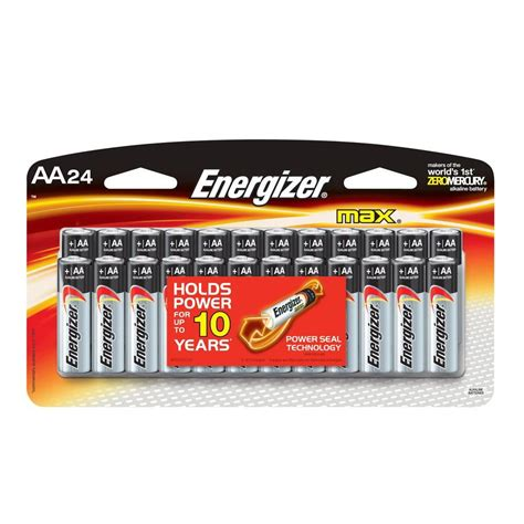24 Pack Energizer Aa Batteries