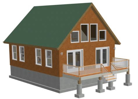 24-X-32-Cabin-Plans-With-Loft