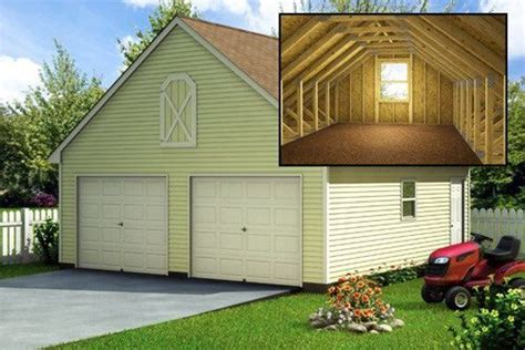 24 X 24 Garage Plans With Loft Image