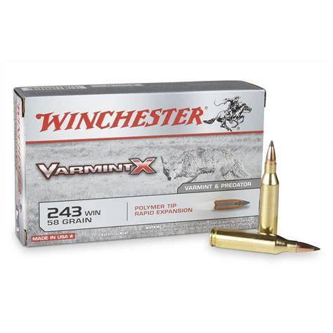 243 Winchester Ammo Canada