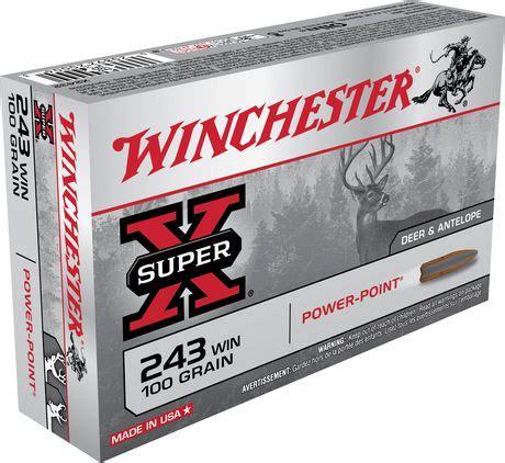 243 Winchester Ammo Walmart