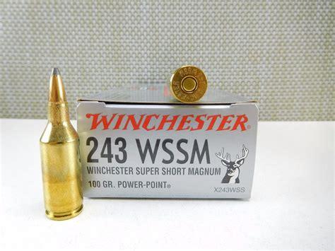 243 Wssm Ammo