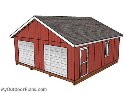24x24-Storage-Building-Plans